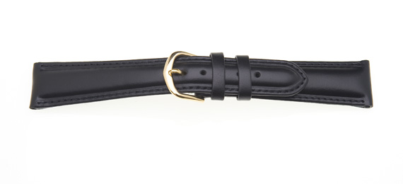Padded Leather Watch Strap