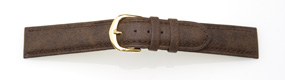 Nubuck Grain Leather Watch Strap