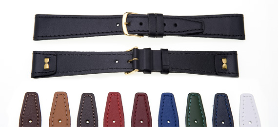 Classic Open-end Leather Watch Straps